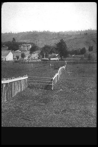 Fence offset by fault  1906