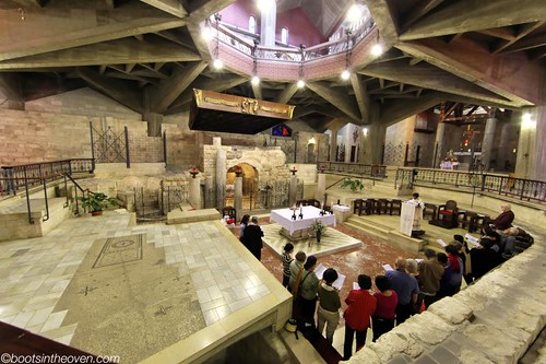 First Floor of the Basilica of the Annunciation