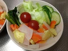 朝食サラダ(2011/11/23)