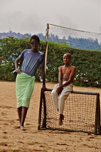 John and Patrick, Lake Kivu