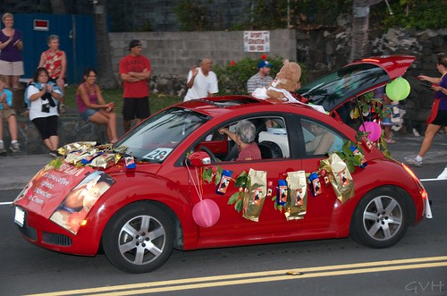 Kona Coffee Festival parade
