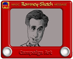 Romney-Sketch Cartoon