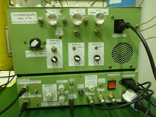 Cromatógrafo Construmaq compacto Modelo U-13.