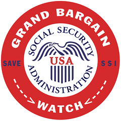 Grand Bargain Watch - Save Social Security by DonkeyHotey