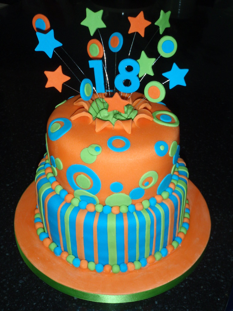 18th Birthday Cake Boy