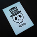 Photo:Post Card Skull -bpd- By Web Creator Net