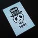 Photo:Post Card Skull -bpd- By Web Creator Net