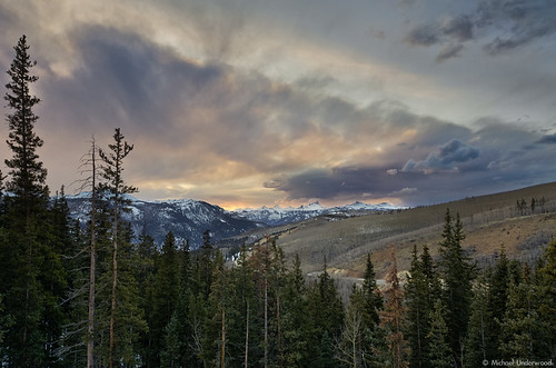 sunset landscape colorado lakecity sanjuanmountains windypoint uncompahgrepeak hinsdalecounty