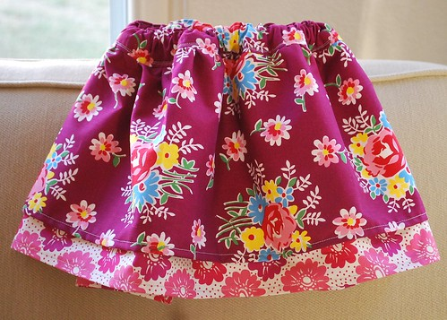 New skirt in Denyse Schmidt fabric
