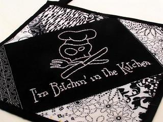 Bitchin' Potholder