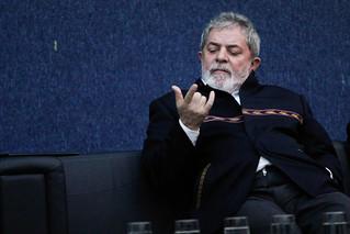 Ex-Presidente Luiz Inácio Lula da Silva participa de conferência do Ibase