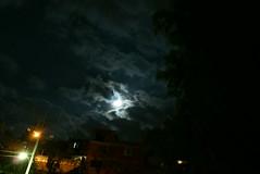 thunderstorm, cloud, light, darkness, midnight, night, sky,