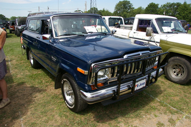 1983 full size jeep cherokee inaugural bantam jeep. Black Bedroom Furniture Sets. Home Design Ideas