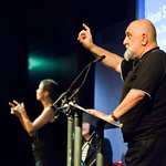 Alexei Sayle on stage |