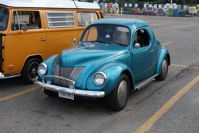 1972 Volkswagen Beetle 1940 Ford Kit Flickr Photo