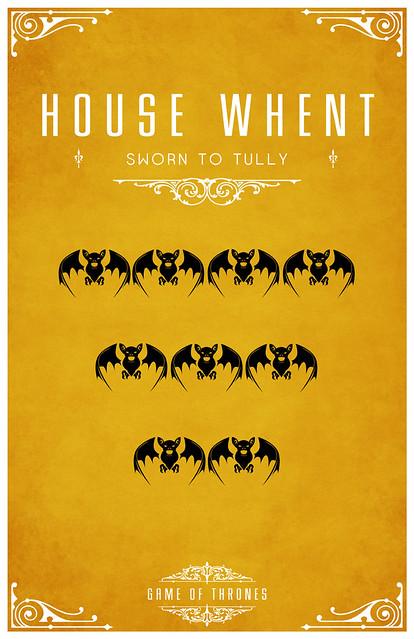 How to do a minimalist house - House Whent House Whent Sigil Nine Bats 4 3 2 Sworn