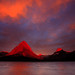 Fire in the sky & mountains... by Joe Dsilva