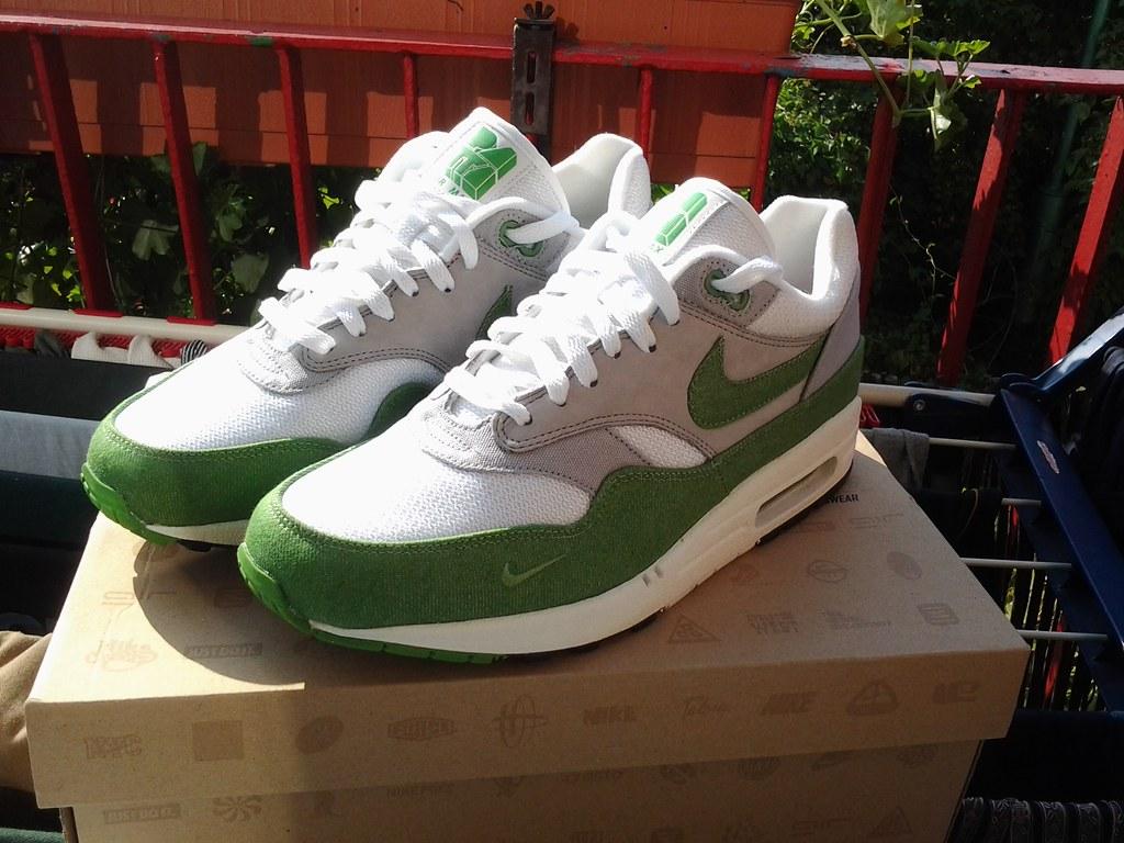reputable site fc507 d9582 ... Nike Air Max 1 Patta Green Denim   by kristoferss