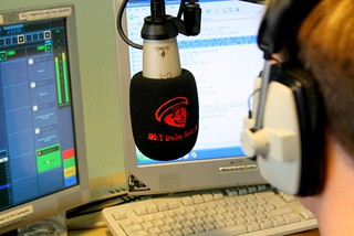 Irvine Beat FM, Community Radio presenter on air