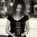 Natalie and her Yashicamat 124G by John G Meadows