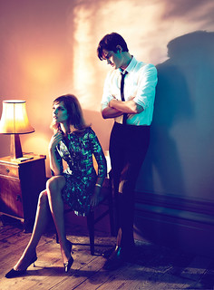 "Natalia Vodianova & Sam Riley in Oscar de la Renta  - ""My Generation"" by Mert & Marcus for US Vogue September 2011"