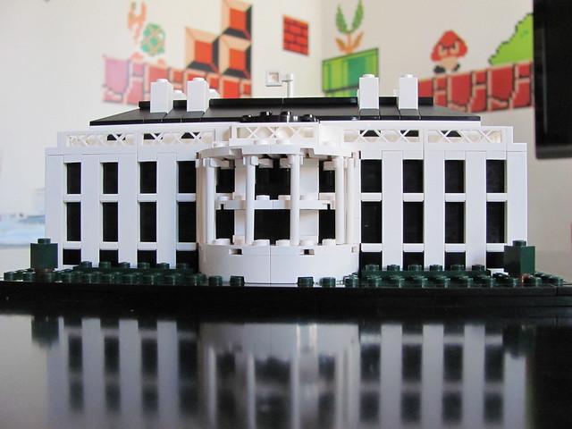 Lego Architecture White House 21006: Lego 21006 - The White House