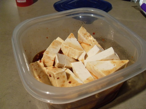 Asian Barbecue Baked Tofu