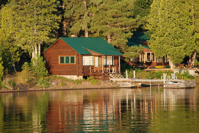 Lake Superior Cottage In The Early Morning Copper