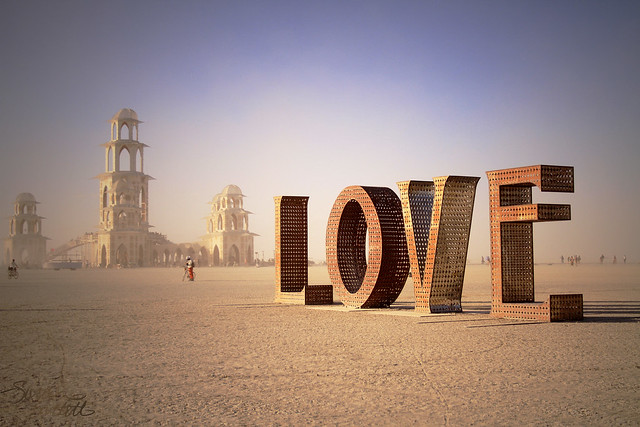 Burning Man: Spread the LOVE