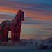 Burning Man 2011 - Trojan Horse by extramatic