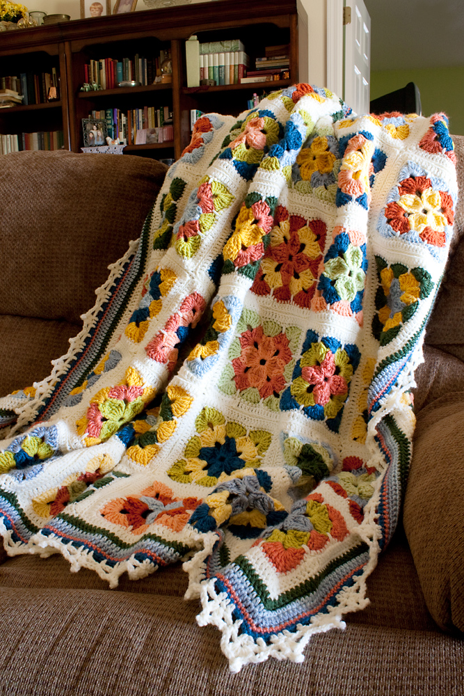 Summer in Sweden Afghan