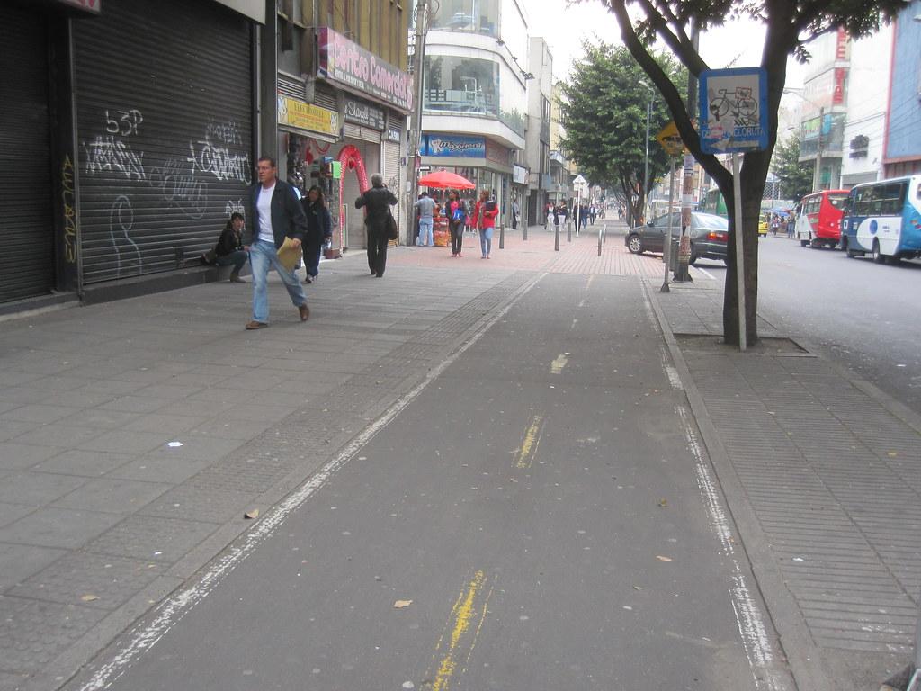 Bogota Bike Paths