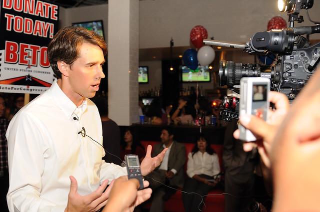 Beto O'Rourke's Campaign Kick-off Event