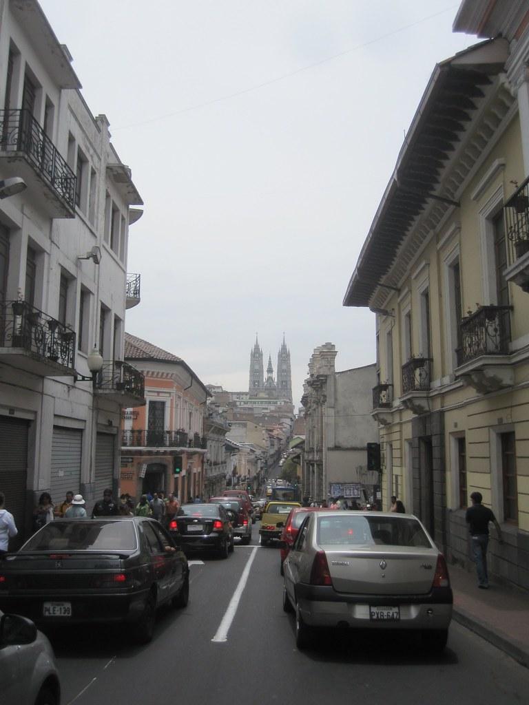 Quito Ecuador Basilica