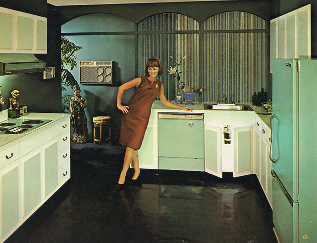 Kitchens of the 50 39 s and 60 39 s flickr photo sharing for 60s kitchen set