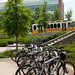 New bicycle racks on GT campus
