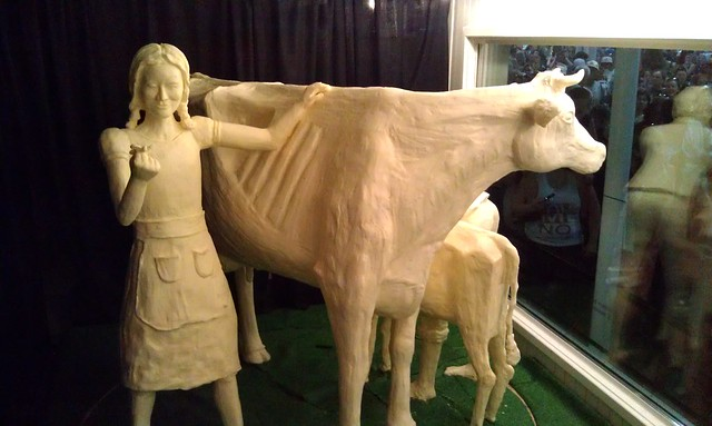 2011 ISF Special Butter Sculpture