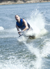 waterskiing(0.0), wakeboarding(0.0), boating(0.0), towed water sport(1.0), wakesurfing(1.0), surface water sports(1.0), boardsport(1.0), sports(1.0), sea(1.0), surfing(1.0), wind wave(1.0), extreme sport(1.0), wave(1.0), water sport(1.0), surfboard(1.0),