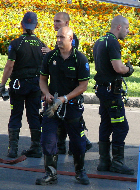 Bomberos de Madrid - Firemen