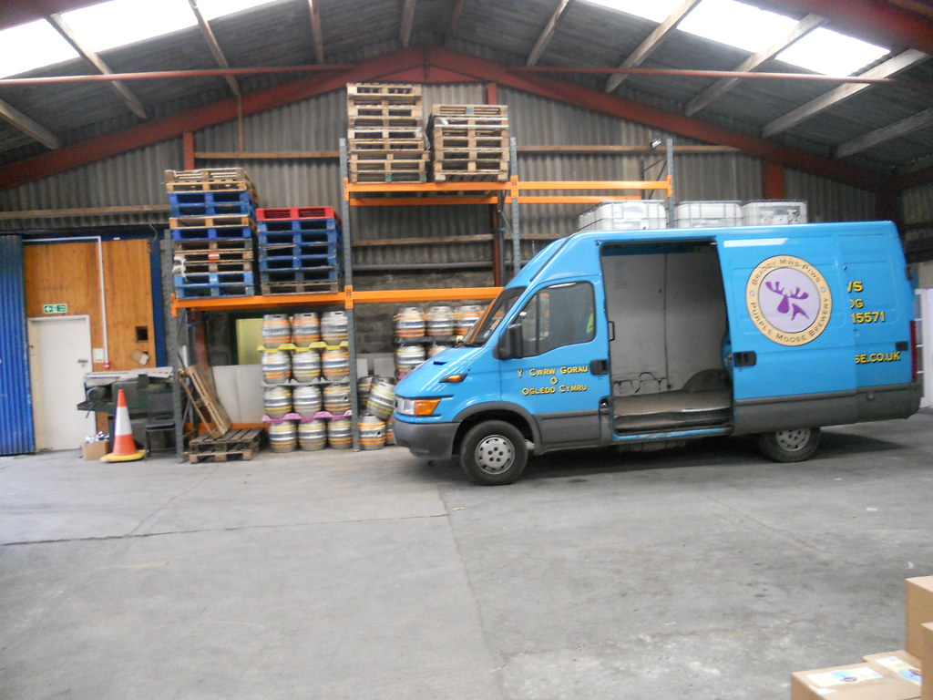 The Purple Moose van