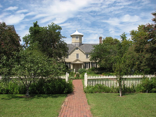 house nc cupola edenton jacobean 1758
