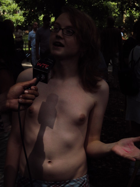 2011 Central Park Topless Day