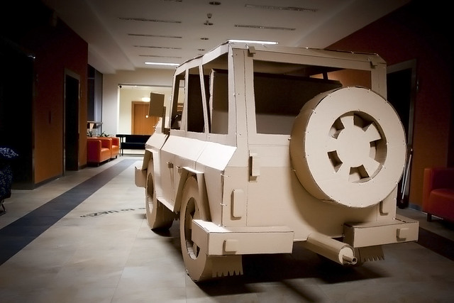 Cardboard Car (real size)