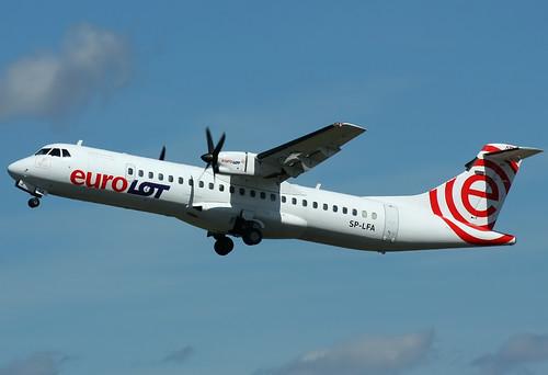 ATR-72-202, EuroLOT, Poznań - Ławica (POZ / EPPO)
