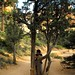 Small photo of Charmaine along the Navajo Trail