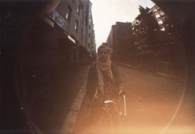 polkupyöräilemässä