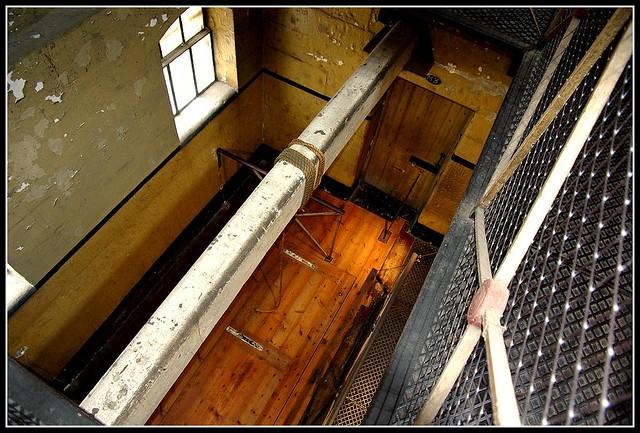 Old Melbourne Gaol Gallows: Australia