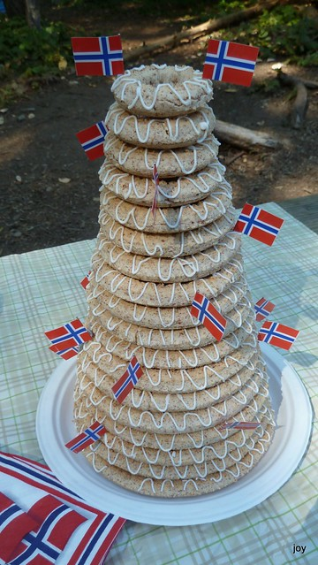 Traditional Norwegian Wedding Cake