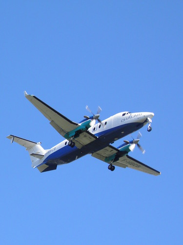 Aircraft (B190) silhouette