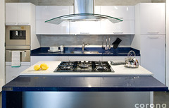 floor(1.0), kitchen(1.0), countertop(1.0), room(1.0), kitchen stove(1.0), interior design(1.0),